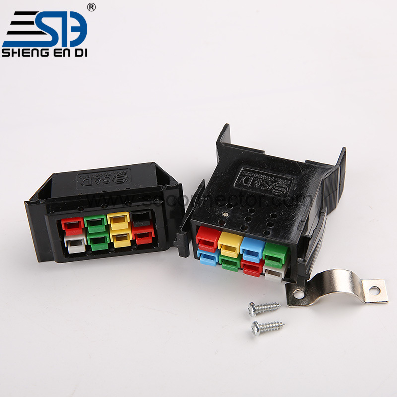 8 bit connector fixed base