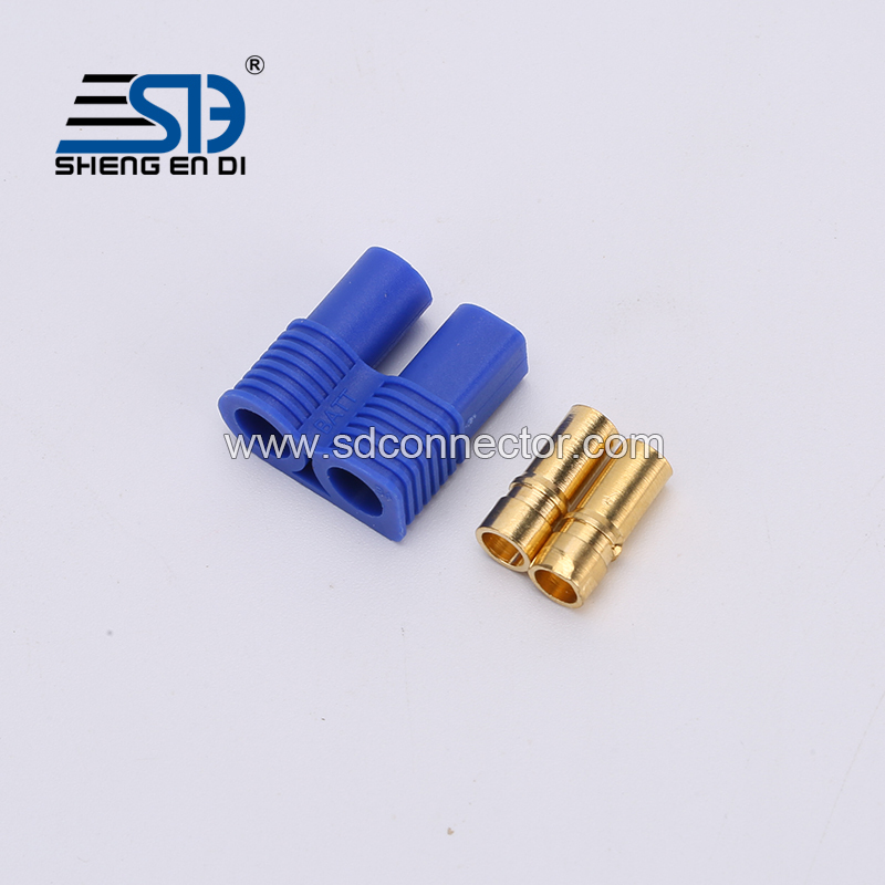 EC3 banana plug Male-Female Type Battery Connector Golden Battery Connector Bullet Plug