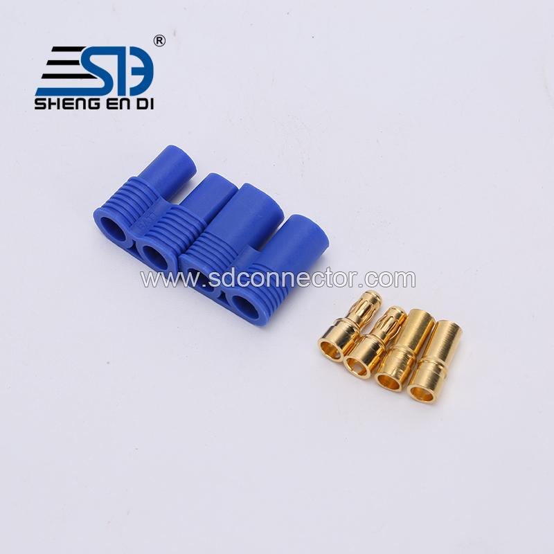 EC5 banana plug Male-Female Type Battery Connector Golden Battery Connector Bullet Plug